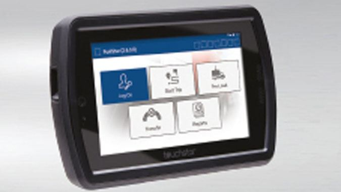 Atex certified rugged scanner being used