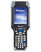 Intermec CK3X rugged handheld - front view