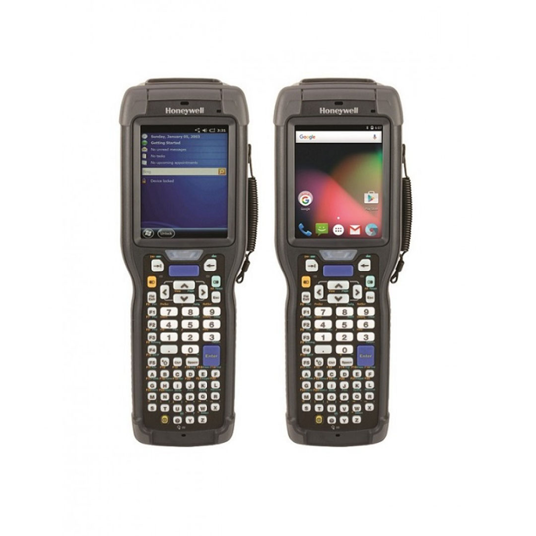 Honeywell D70E wearable rugged computer - In application