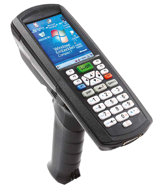 Boston 8600 rugged handheld computer - with scanner