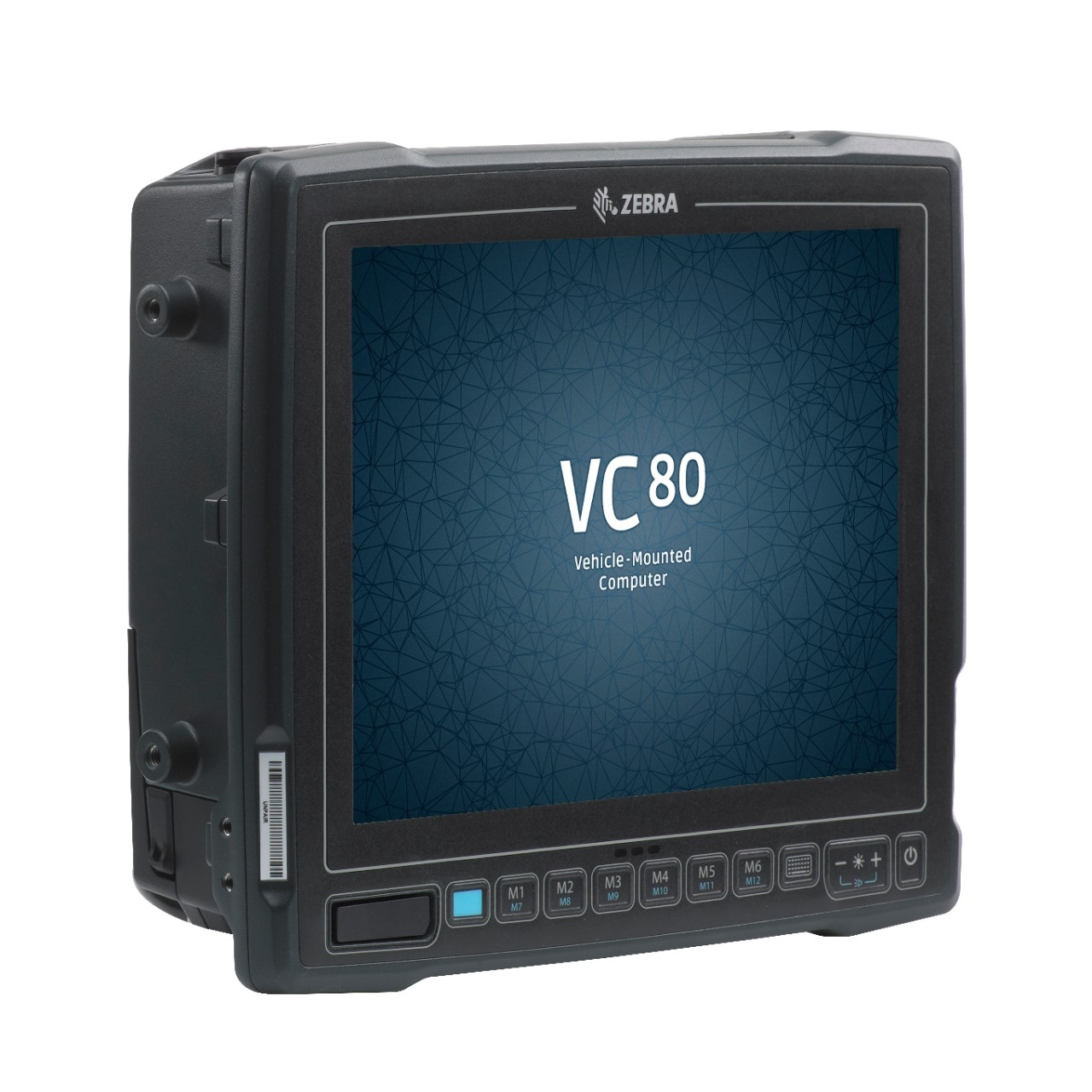 Zebra-VC80x rugged truck-mounted computer - screen view