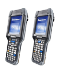 Honeywell CK71 rugged handheld - two front right view