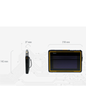Getac Z710EX rugged tablet - measurements