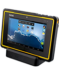 Getac Z710EX rugged tablet - front right view