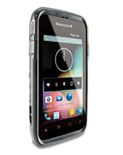 Intermex CT50 rugged handheld Android rotated right