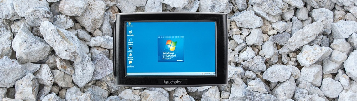 Rugged Touchstar tablet background